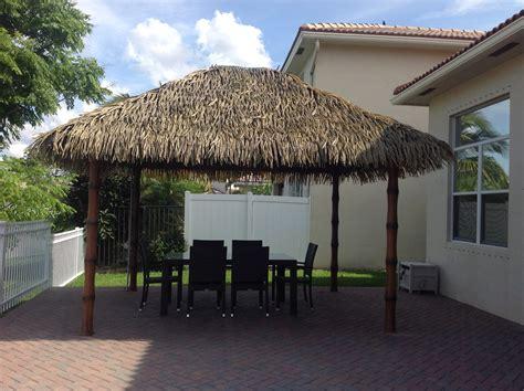 Tiki Hut Thatch custom built tiki huts and tiki bars