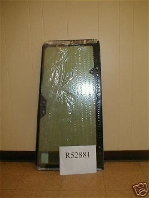 case lh door rear window     super  finney equipment  parts