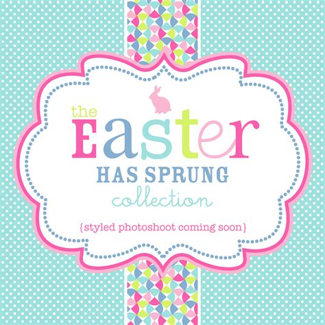 easter invitation template quot easter has sprung quot printable collection and invitation