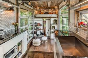 Tiny Homes Interior Pictures by Comfort And Luxury In A Tiny House Format
