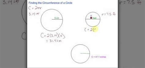 How To Find On How To Find The Circumference Of A Circle Quickly 171 Math