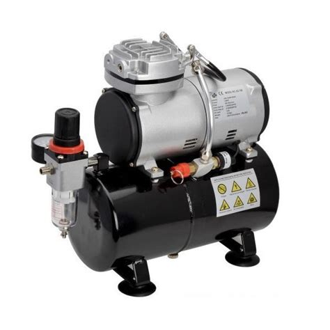 Kompresor Mini Air Brush Compressor Mini Prohex B17 N115 airbrush mini kompressor druckluft 1 8 quot 3 liter tank 246 lfrei