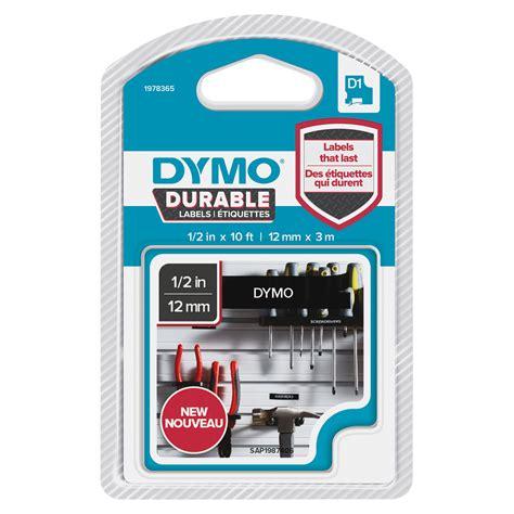 dymo label cassette dymo d1 durable label cassette grand