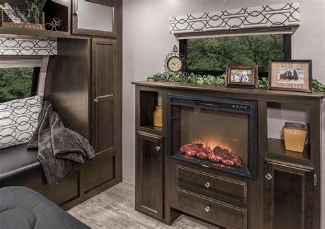 Venture Fireplace by Sporttrek Touring Edition Stt336vrk Travel Trailer