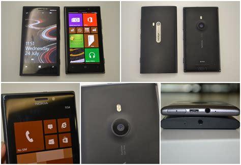 Nokia Lumia 925 Hitam pandang pertama nokia lumia 925 amanz