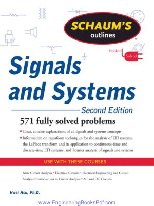 Signal And Systems 13ed signals and systems by second edition engineering books pdf