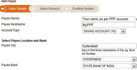 Letter Transfer Ppf Account How To Deposit In Ppf Amount