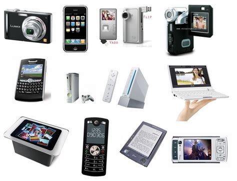 electronics gadgets 6 types of fashionable and interesting electronic gadgets