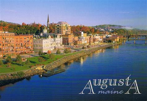 of maine augusta augusta maine postcard available a photo on flickriver