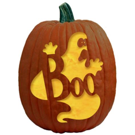boo template pumpkin free ghostly and spooky pumpkin carving patterns