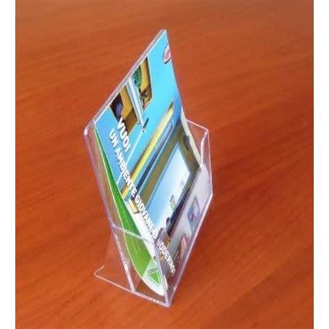portabrochure da tavolo portadepliant da banco a5