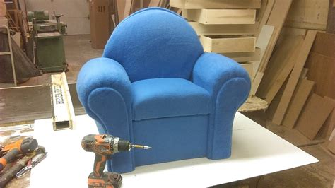 How Make A Sofa by How I Make A Small Chair