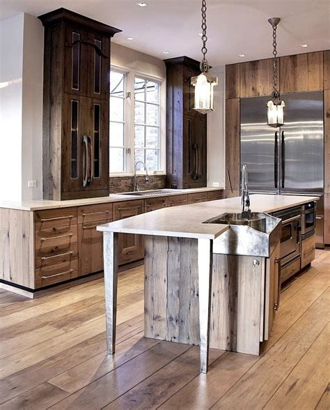 recycle kitchen cabinets 99 best reclaimed wood kitchen cabinets images on