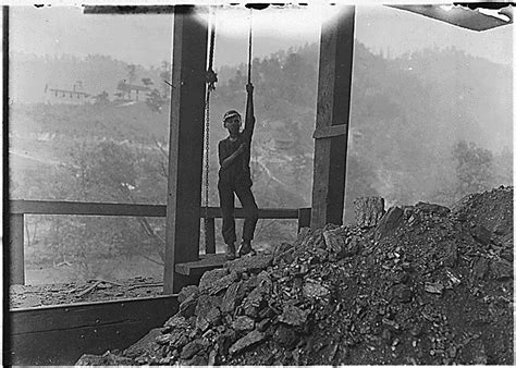Wv Archives Records Boy Running Trip Rope In A Mine Welch Wv