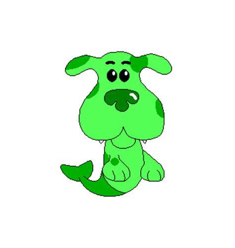 blues clues green green puppy as a puppy by gamekirby on deviantart