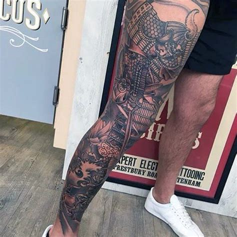 japanese leg tattoos for men 70 thigh tattoos for manly ink designs