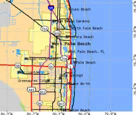 map of west palm florida west palm florida fl 33401 33405 profile