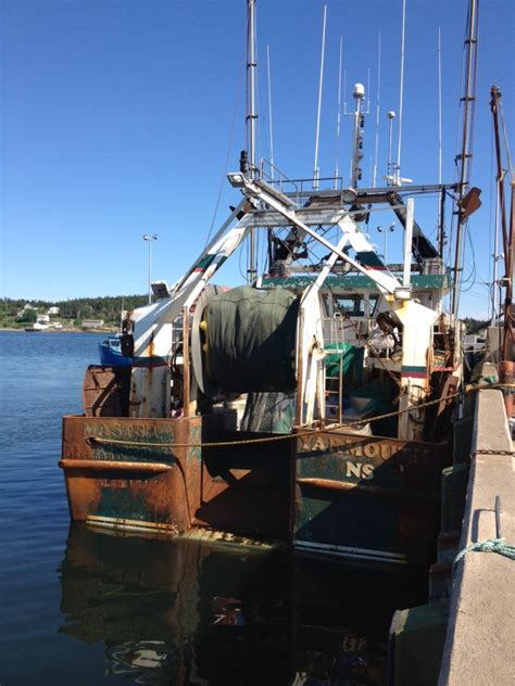 shrimp boat docks near me touring the towns of glace bay louisbourg day 55
