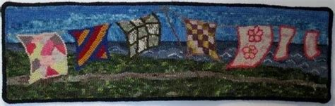 joan foster rug hooking hooked by the sea creative gros morne