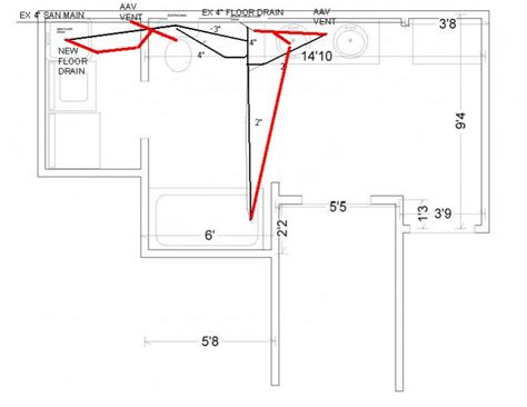 Plumbing Layout For Basement Bathroom by 301 Moved Permanently