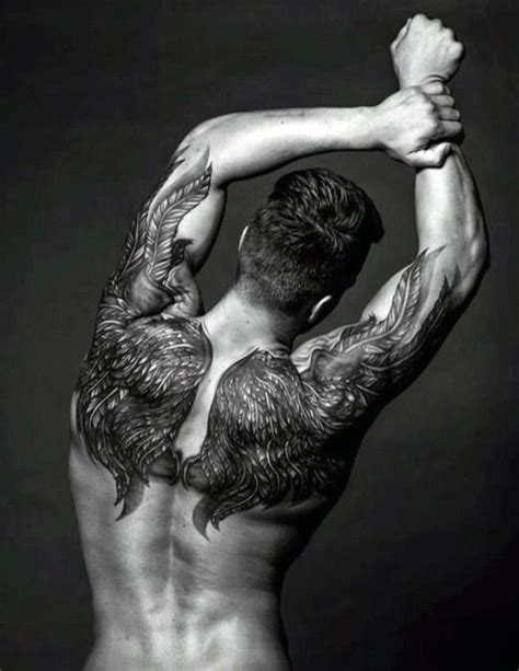 tattoo back angel wings 75 remarkable angel tattoos for men ink ideas with wings