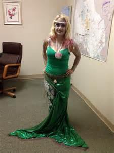 Handmade Mermaid Costume - my mermaid costume autumn and fall