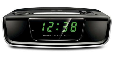 Original Clock Radio Philips Aj3123 12 radiowecker aj3121 12 philips
