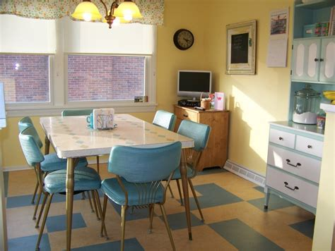 Retro Kitchen | hugs and keepsakes vintage retro kitchen re do