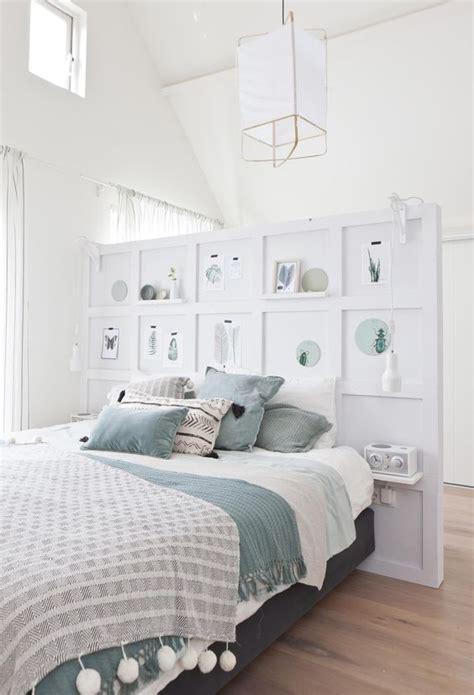 Ordinaire Idee Deco Chambre Couple #6: fabriquer-tete-de-lit-deco-pour-chambre-blanche.jpg