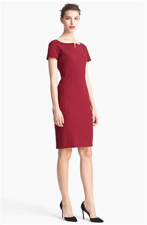 Dress Maxmara By Collection max mara capo split neck dress in lyst
