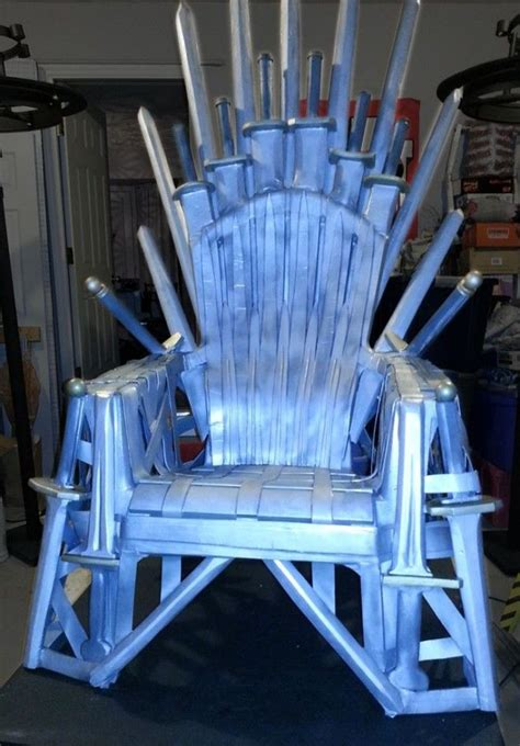 iron throne   lawn chair