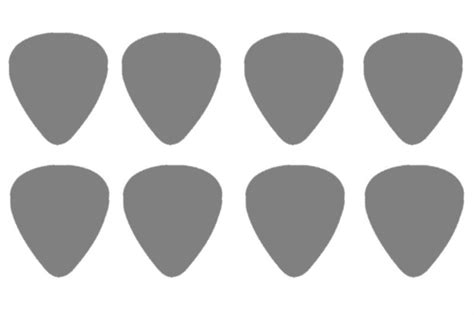 actual card template guitar template actual size i use this all the time