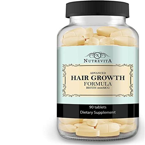 1 supplement for growth 9 hair growth vitamins that actually work for black hair