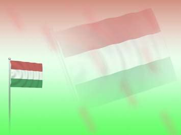 power point themes hungary hungary flag 02 powerpoint templates