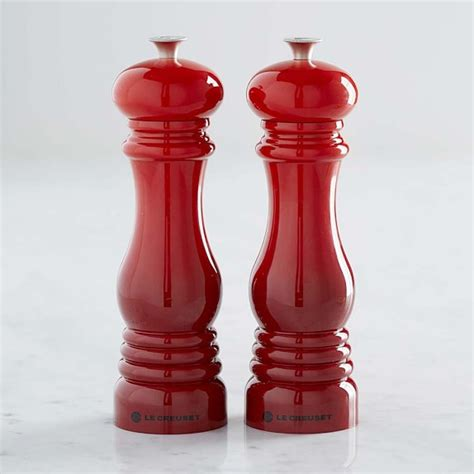 what colors go best with salt and pepper hair le creuset salt pepper mills williams sonoma