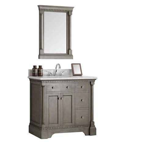 fresca vanity fresca kingston 36 in vanity in antique silver with