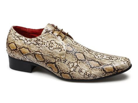snakeskin sneakers mens rossellini brenzone mens faux snakeskin shoes yellow buy