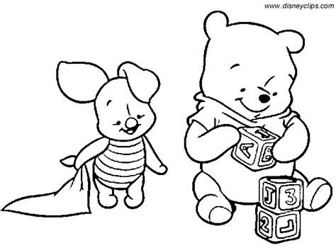 baby tigger coloring pages baby pooh coloring pages