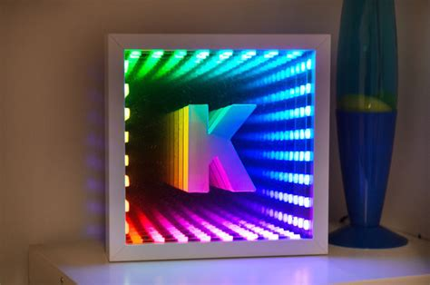 Cool Desk Clock Ikea Infinity Mirror 12 Steps With Pictures