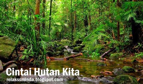 2 Di Malaysia cintai dan kekalkan hutan di malaysia relaks minda