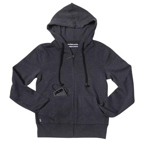 hoodiebuddie puts headphones in your hoodies