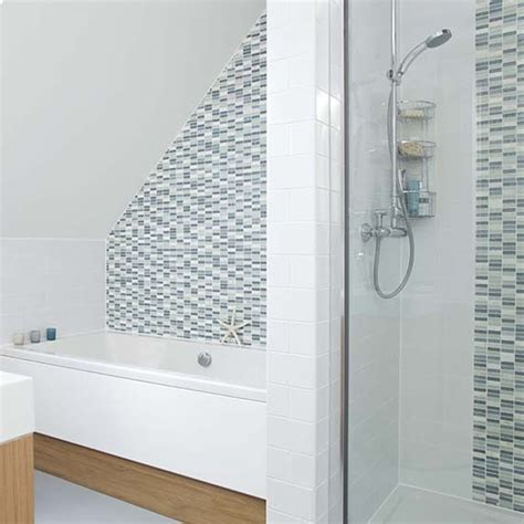 bathroom tile feature ideas shower rooms housetohome co uk