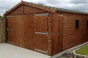 Wooden Garage Wooden Garage Features The Features Of Wooden