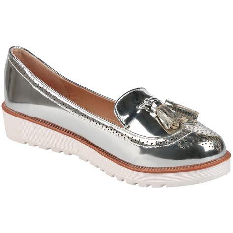 Flat Shoe C pumps womens flat shoes loafers tassel fringe
