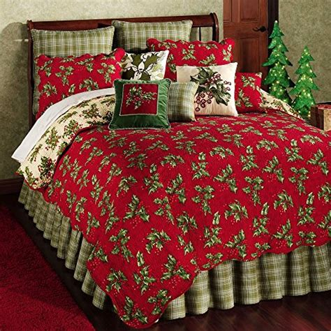 april cornell bedding holly red full queen quilt by april cornell bedding sets