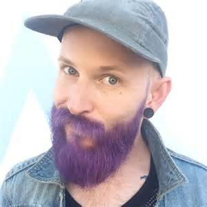 beard coloring merman beard are dyeing their hair with colors