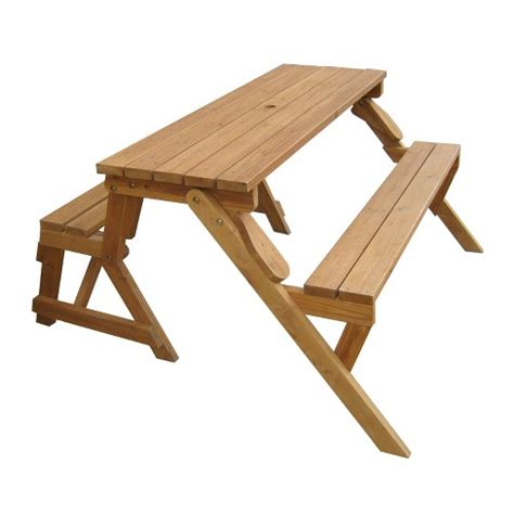 bench becomes picnic table interchangeable picnic table garden bench merry