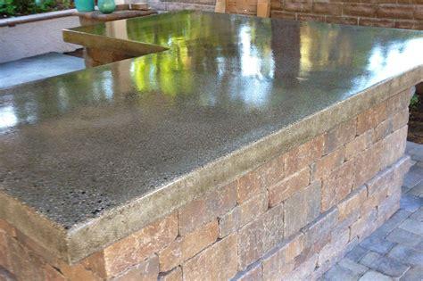 Concrete Countertops Outdoor by Concrete Countertops Cpf Custom Concrete And Masonry