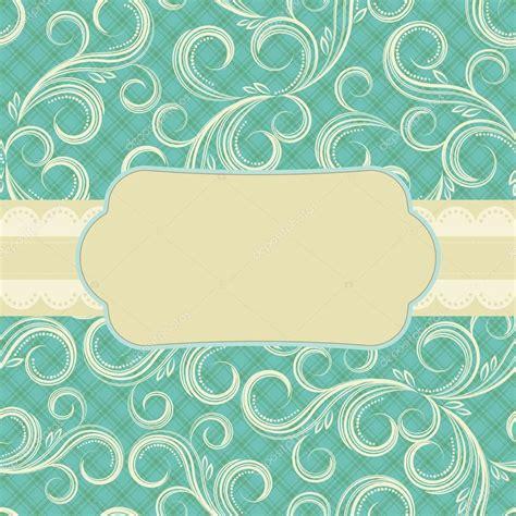 svg pattern background cover ornate floral background cover design stock vector