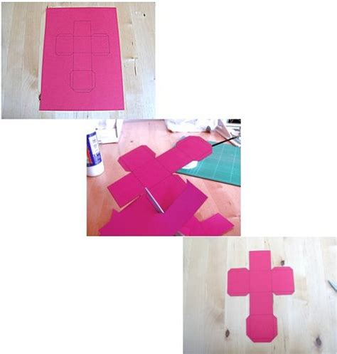 Things To Make With Paper And Glue - crafts how to make a box